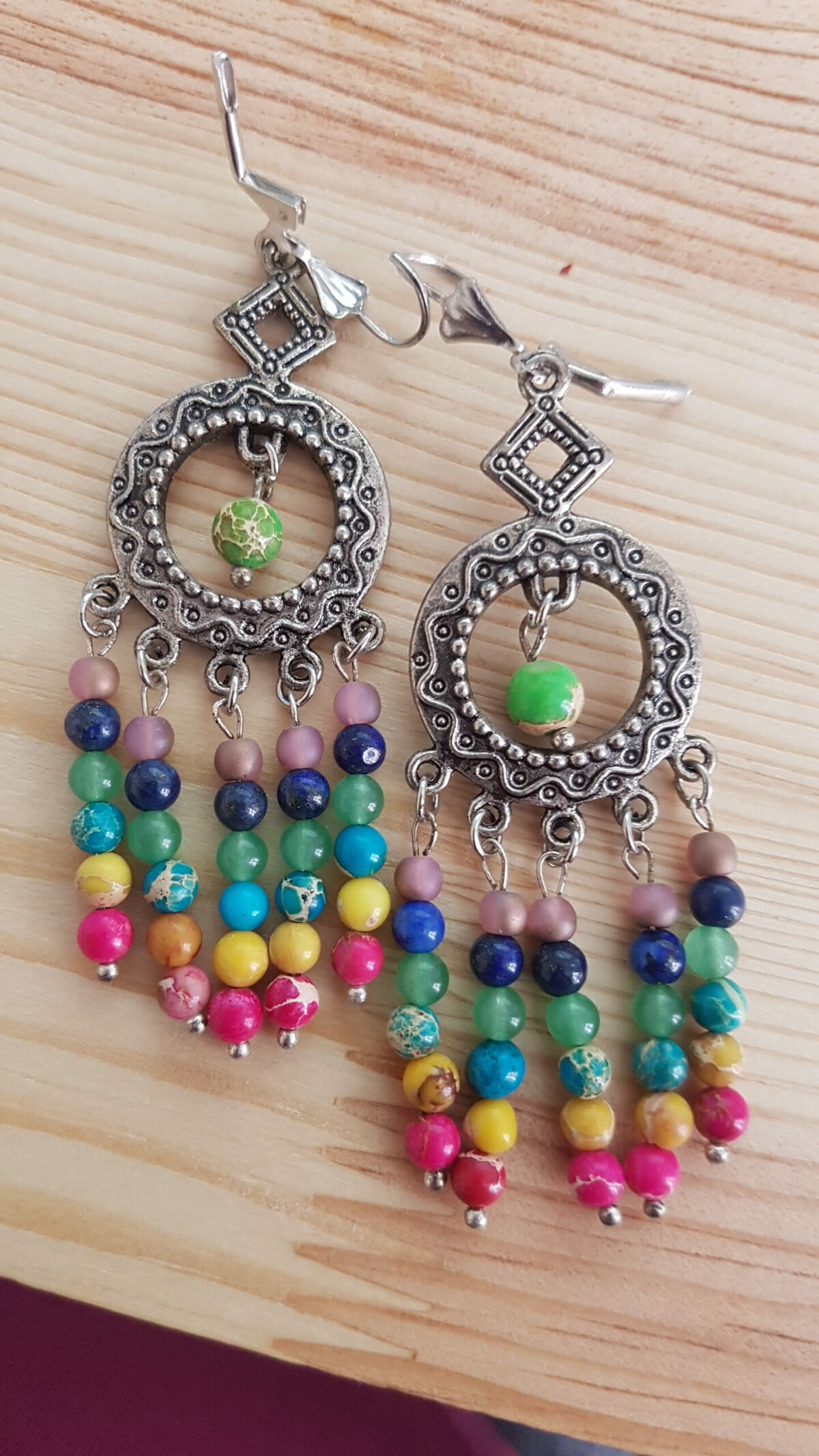 Boucles extra longues multicolores