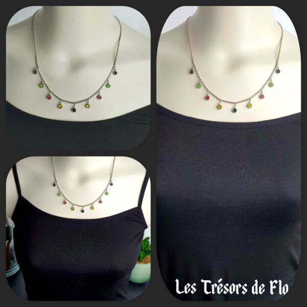 Collier multistrass
